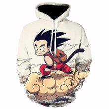 Young Goku and Nimbus Cloud Hoodie