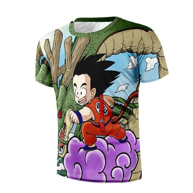 Dragon Ball Goku and Shenron | Men's Shirt