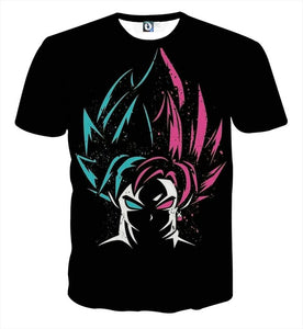 Goku's Super Saiyan God Forms | Men's Shirt