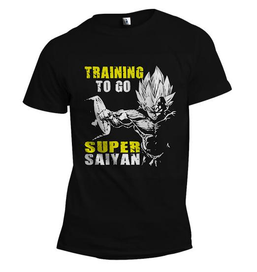 Vegeta Training to go Super Saiyan | Men's Gym Shirt