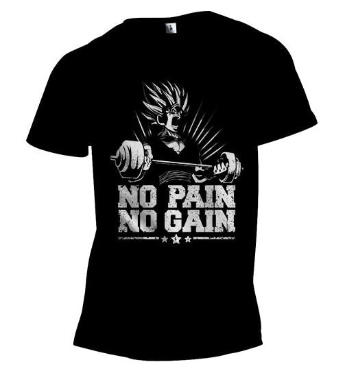 Goku No Pain No Gain Gym Shirt