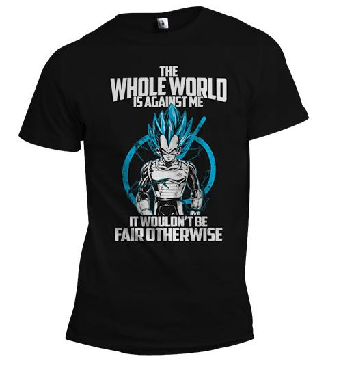Vegeta Ultimate God Mode | Men's Shirt