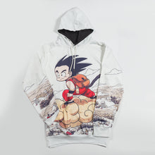 Young Goku and Nimbus Cloud | Men's Hoodie