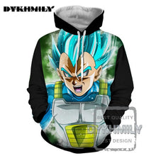 DB Super - Saiyan God Ultimate Vegeta Hoodie