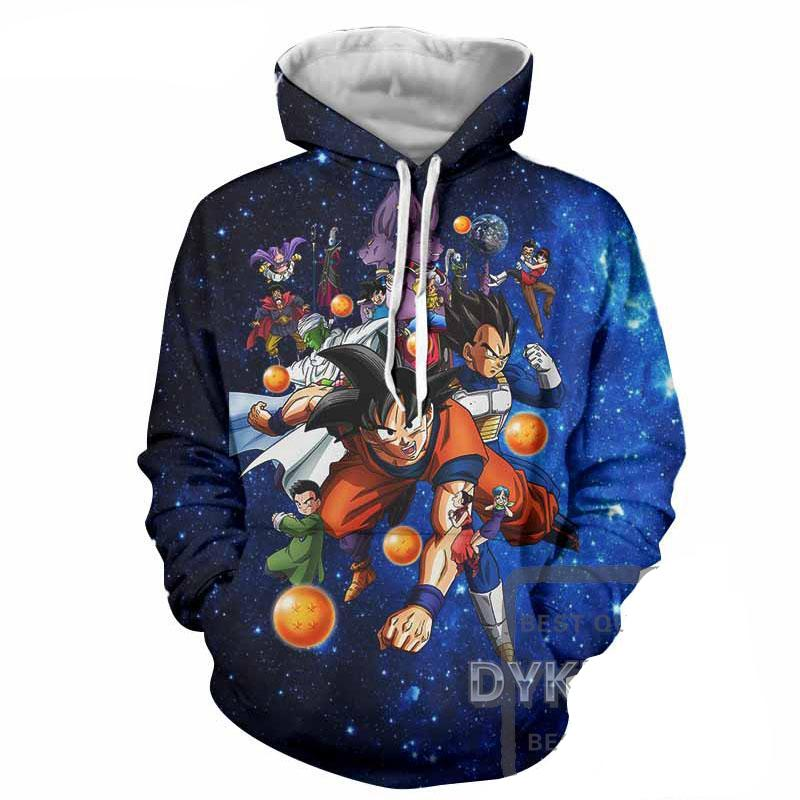 Battle of Gods Saga Characters | Men's Hoodie