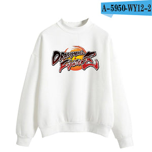LUCKYFRIDAYF 2018 DRAGON BALL FIGHTER Z Turtlenecks Hoodies Sweatshirts Women/Men Hoodies Loose Anime Sweatshirt Female Clothes