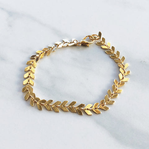 Chevron Accent Bracelet