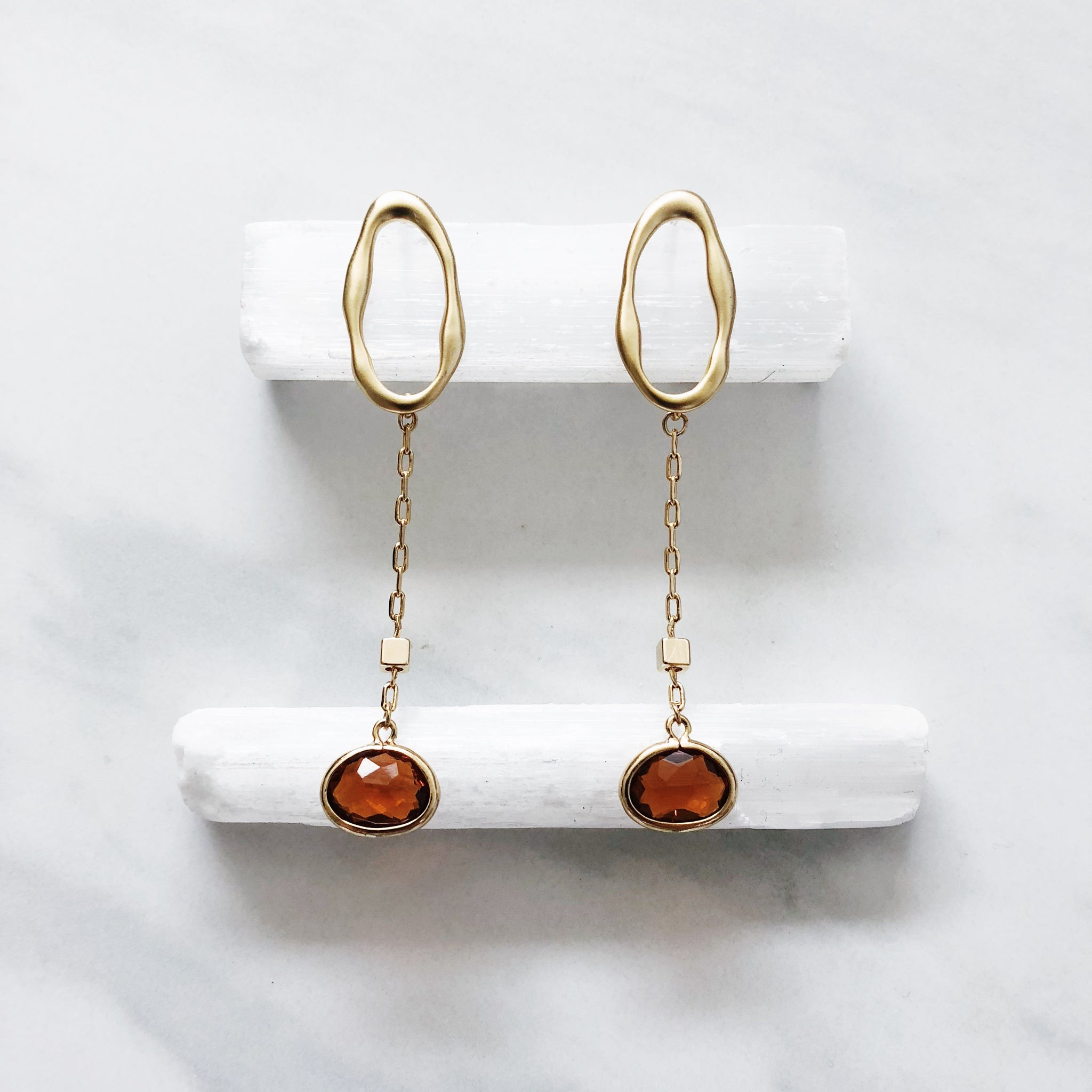 Sunset Drop Earrings