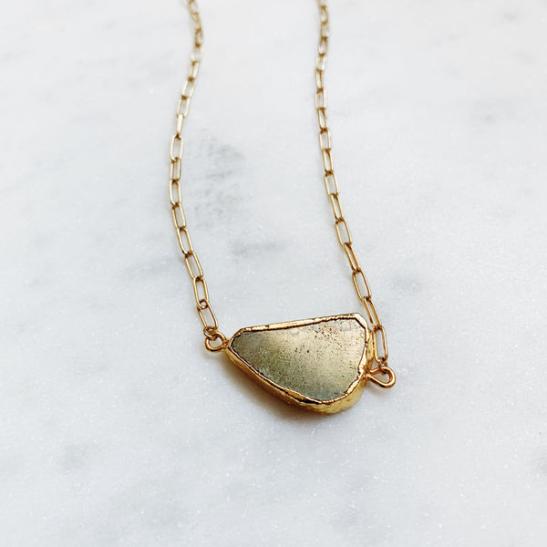 Pyrite Dreams Necklace