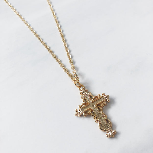 Traditional Cross Necklace