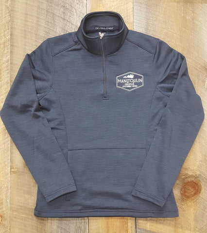 Ladies' Manitoulin Badge Fleece Quarter-Zip