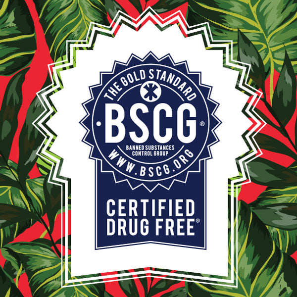 We're Now BSCG Drug Free Certified