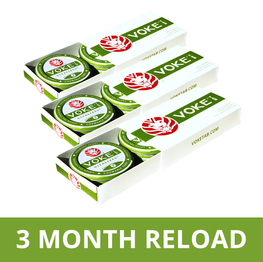 Three Vokes-A-Day Reload 3 Month Pre Pay - Get 25% Off!