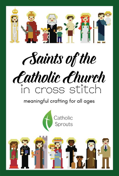 Saints of the Catholic Church in Cross Stitch
