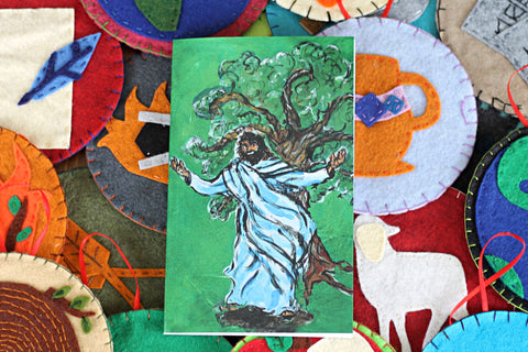 Jesse Tree Booklet and FELT ORNAMENT PATTERNS