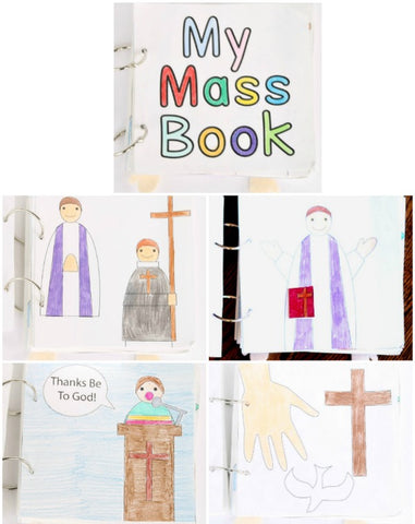 Mass Quiet Book Printable