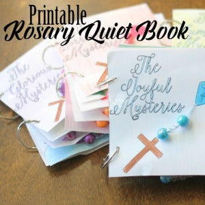 Rosary Quiet Book PRINTABLE Version