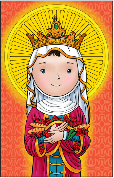 Holy Card Set (Elizabeth, Joan, Rose, Patrick and Martin)