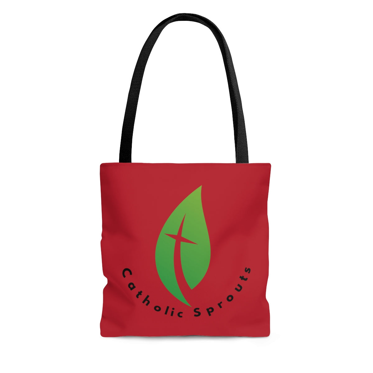 Catholic Sprouts Tote Bag RED