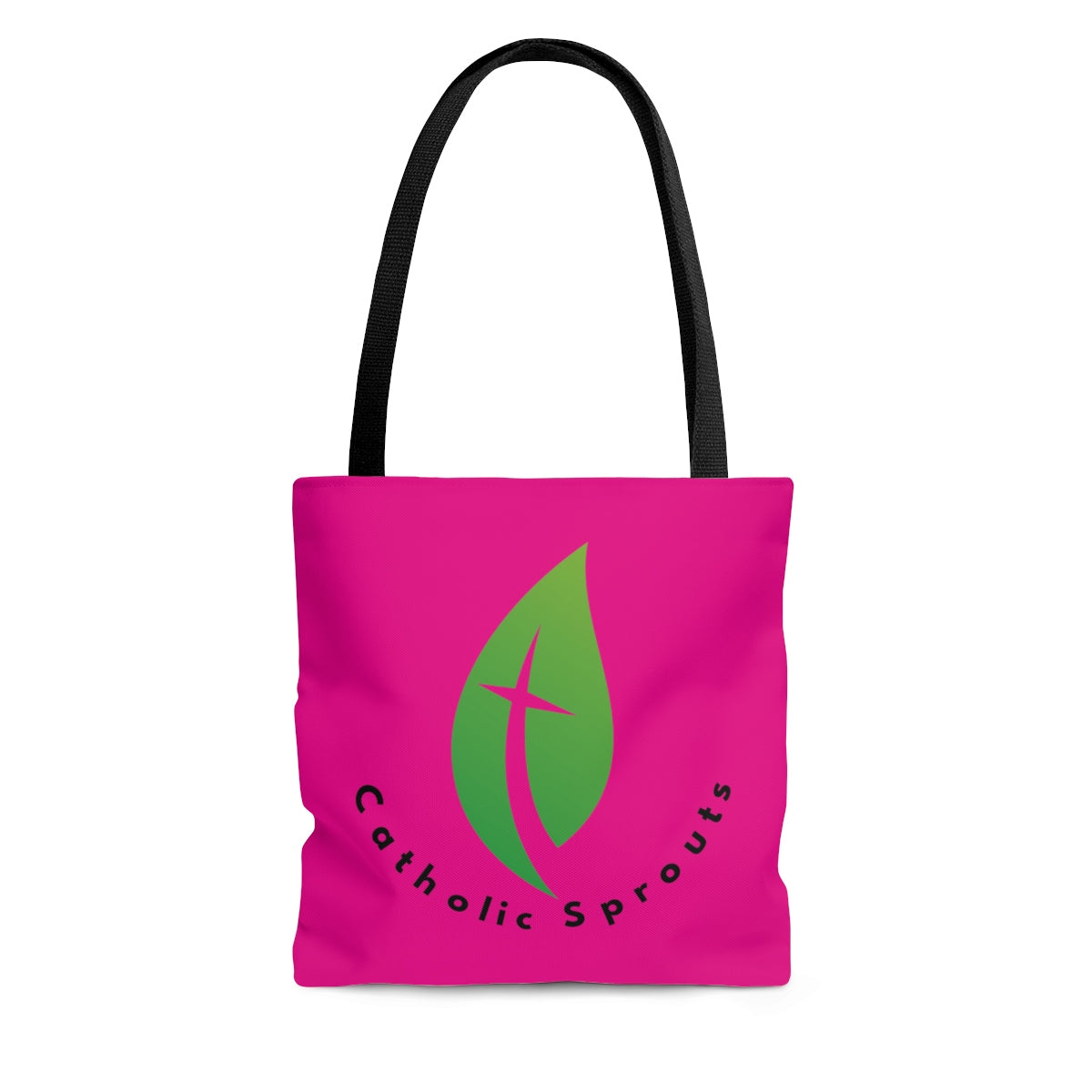 Catholic Sprouts Tote Bag PINK