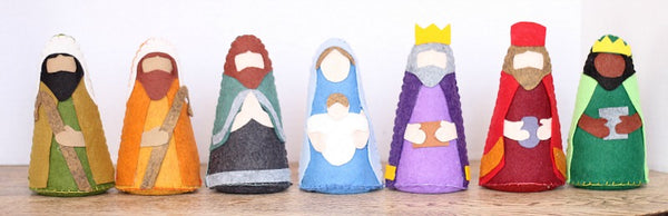 Felt Nativity Set Pattern