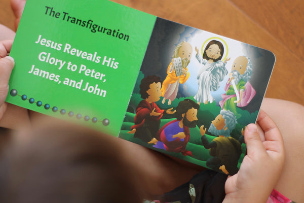 Mysteries of the Rosary 4 Board Book Set