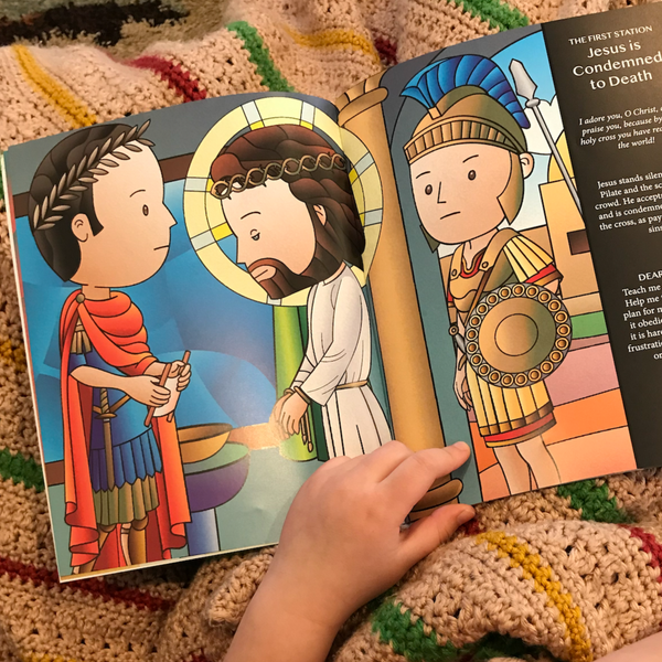 Stations of the Cross Story Book