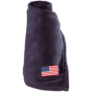 USA FLAG Super Cozy Large Fleece Blanket for the Game for the Couch