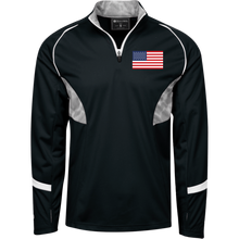 "USA AMERICAN SPORT ""CLASSIC"" 1/4 Zip Pullover with BADASS Camo Inserts"