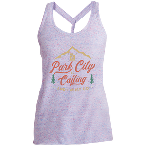 DM466 Ladies' Cosmic Twist Back Tank