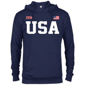 USA TEAM STYLE Classic French Terry Hoodie