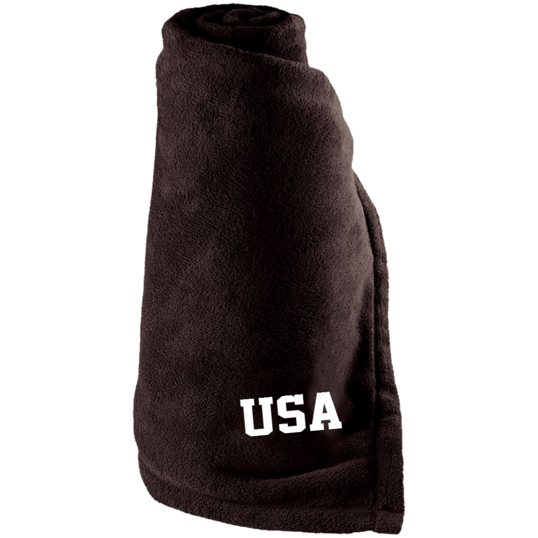 USA USA USA Super Cozy Large Fleece Blanket for the Game for the Couch