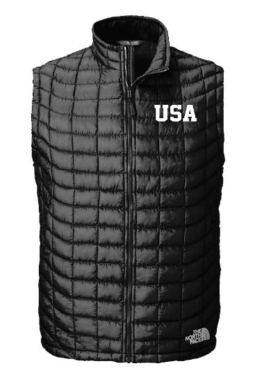 USA NORTH FACE  - PARK CITY custom EMBROIDER VEST