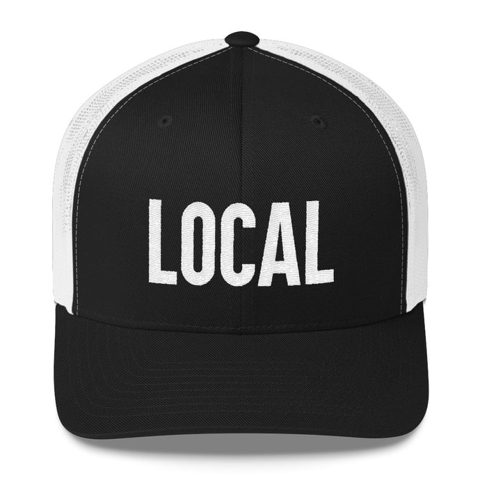LOCALS ONLY 🍺 trucker hat