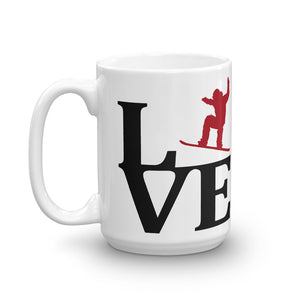 LOVE2RIDE 🏂 Mountain Mug