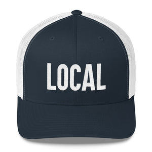 LOCALS ONLY 🍺 Park City trucker hat