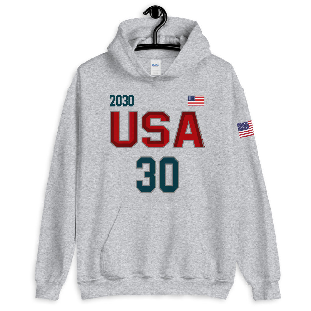 TEAM Park City USA 30 🎿 Unisex Hoodie