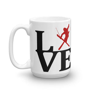 "LOVE FREESKIING -  WORLD ""CUP""  FREESTYLE  Mug of dreams."