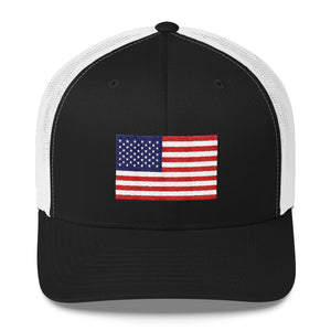 """CLASSIC AMERICAN"" HOME TEAM Trucker Cap - GO USA!"