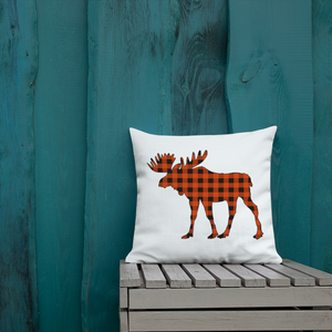 LET'S MOOSE AROUND 💤 😄 cozy throw pillow