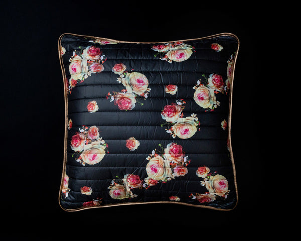 Rock 'n Roses Pillow - Large - SOLD OUT