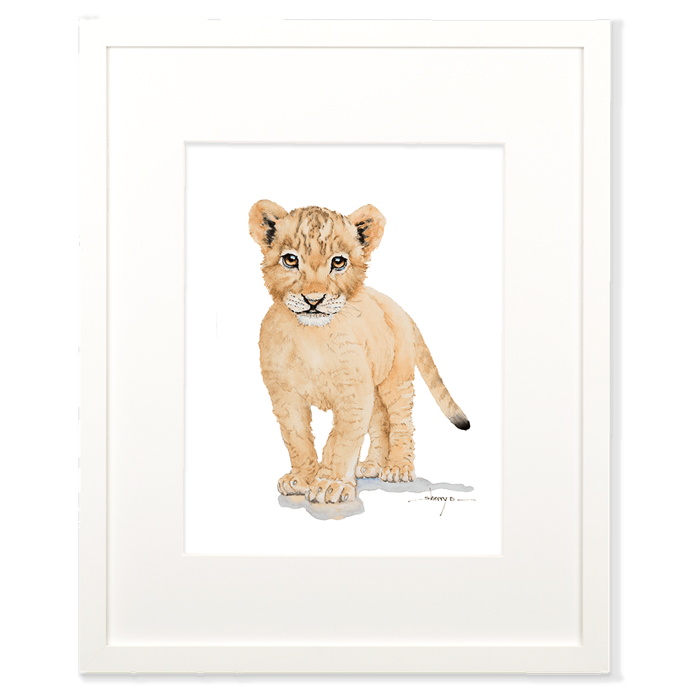 Baby Lion Wall Art