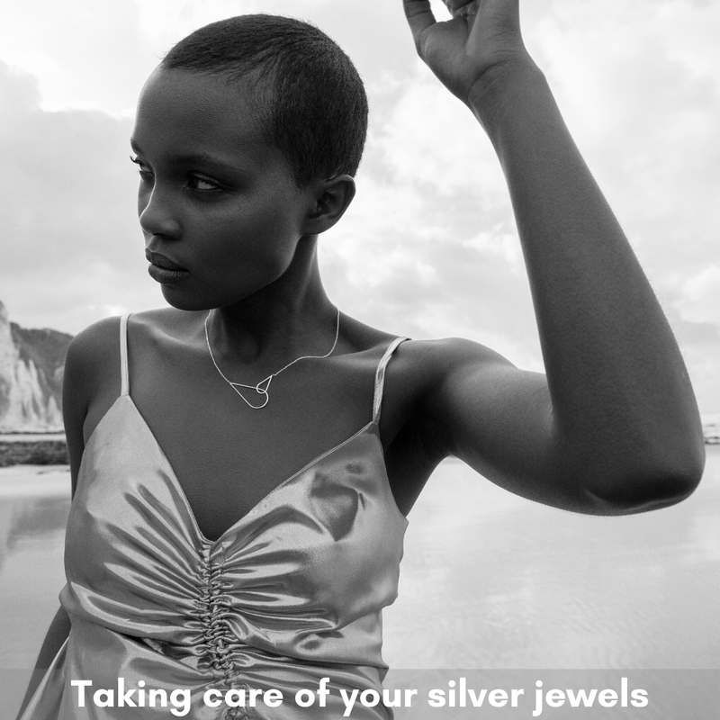 Taking care of your silver jewels
