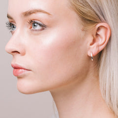 Aurore Havenne Silver Wire earrings minimalist jewelry bijou simple