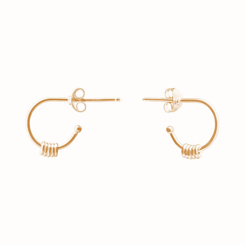 Gold Plated Silver Isabela Earrings