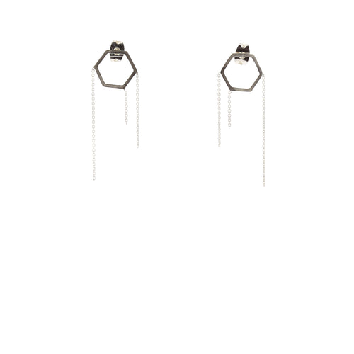 Aurore Havenne 1000&1 Earrings bijou simple minimalist jewellery silver