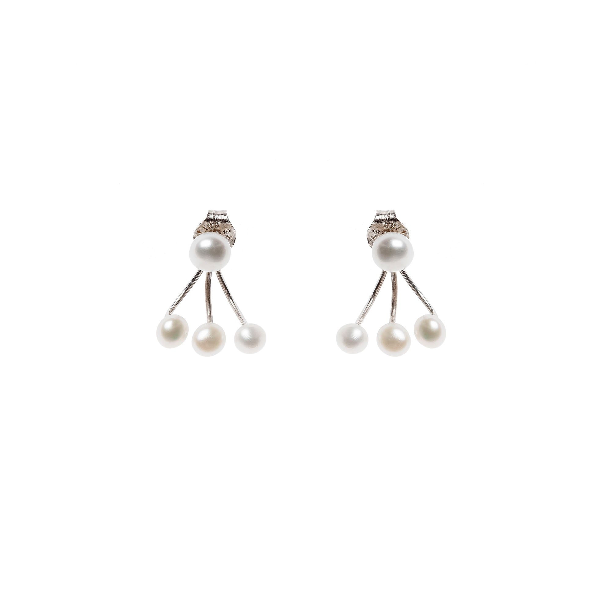 Aurore Havenne Halo Calypso Earrings bijou minimalist jewel silver