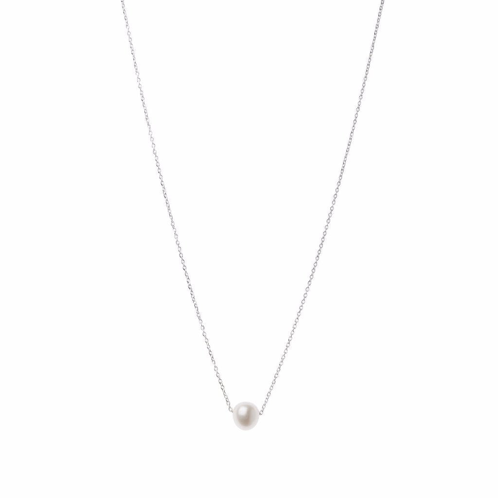 Aurore Havenne Silver Halo necklace minimalist jewellery bijoux simple design belgian wedding