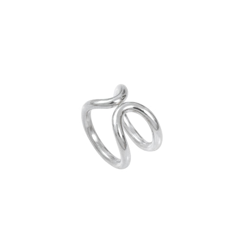 Aurore Havenne Ring infinity silver bijou simple fins jewelry