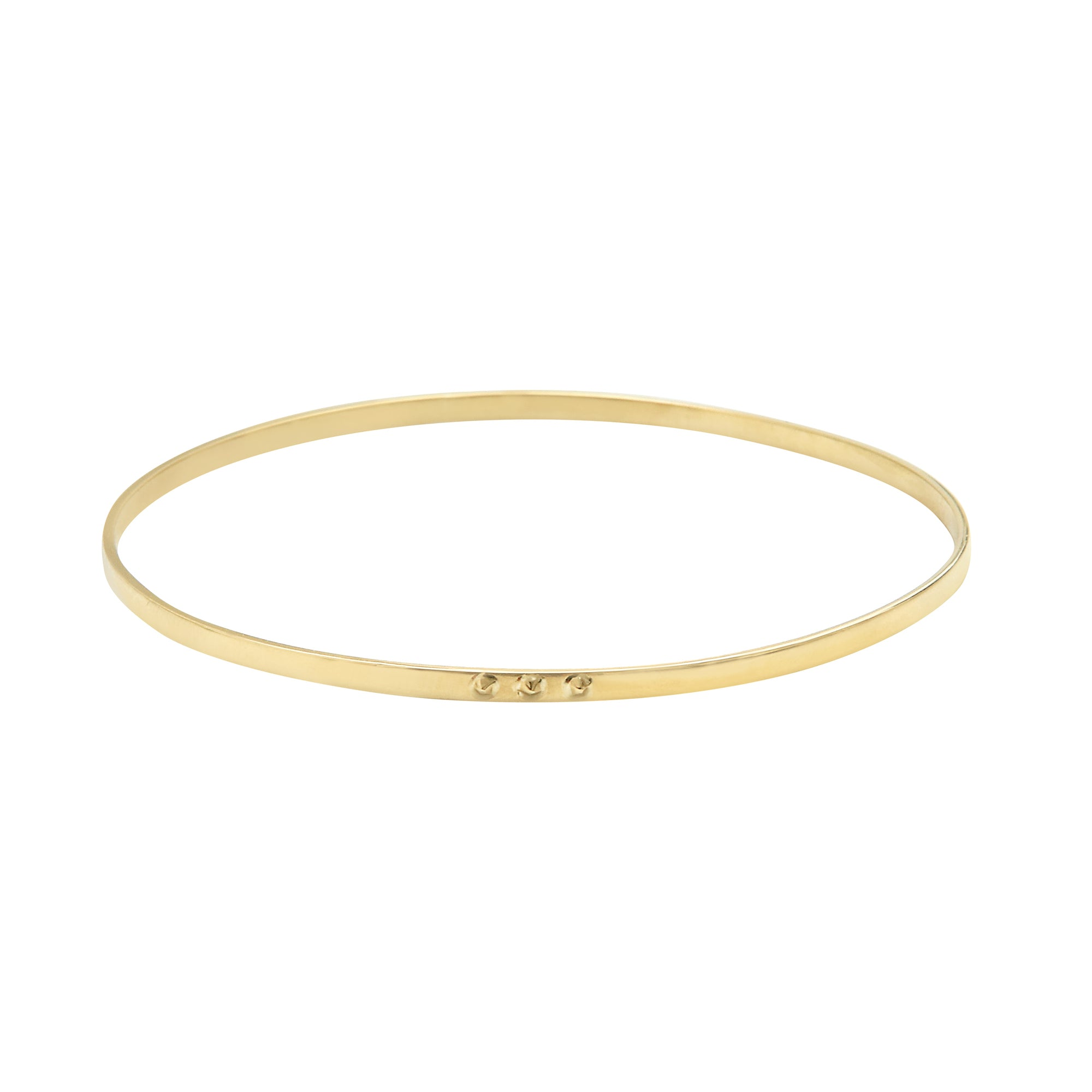 Inside Out Gold And Diamond Bracelet